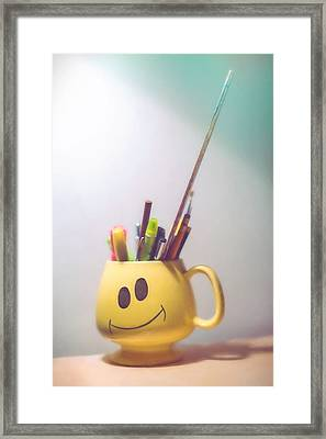 Happiness Is Framed Print by Scott Norris