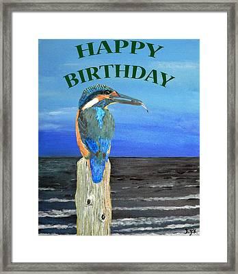 Happy Birthday Framed Print by Eric Kempson
