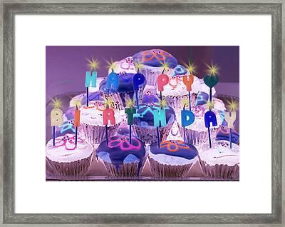 Happy Birthday Framed Print by Holly Kempe
