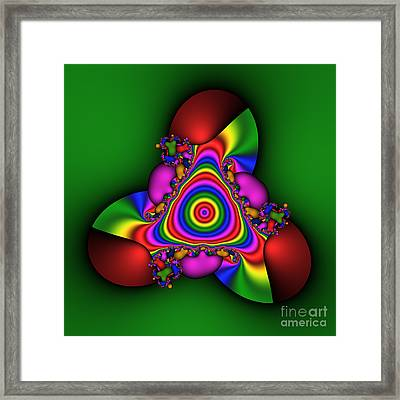 Happy Cervix 183 Framed Print by Rolf Bertram