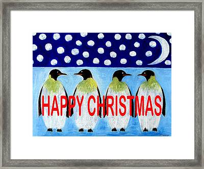 Happy Christmas 24 Framed Print by Patrick J Murphy