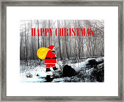 Happy Christmas 60 Framed Print by Patrick J Murphy