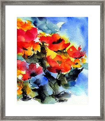 Happy Day Framed Print by Anne Duke