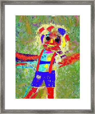 Happy Go Lucky Framed Print by Mimo Krouzian