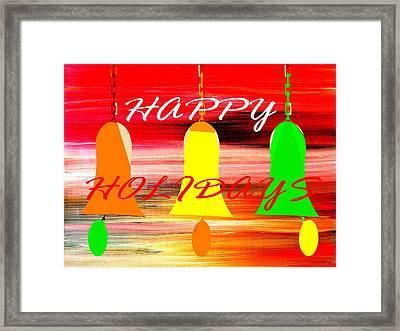 Happy Holidays 11 Framed Print by Patrick J Murphy