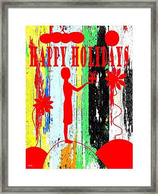 Happy Holidays 62 Framed Print by Patrick J Murphy