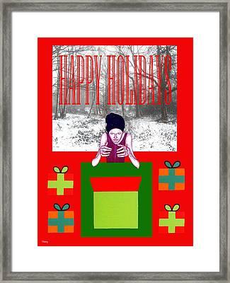 Happy Holidays 63 Framed Print by Patrick J Murphy