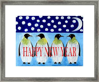 Happy New Year 5 Framed Print by Patrick J Murphy