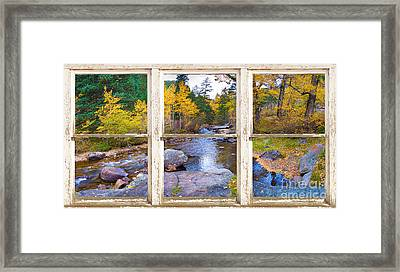 Happy Place Picture Window Frame Photo Fine Art Framed Print by James BO  Insogna