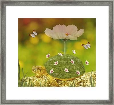 Happy Spring Framed Print by Art Spectrum