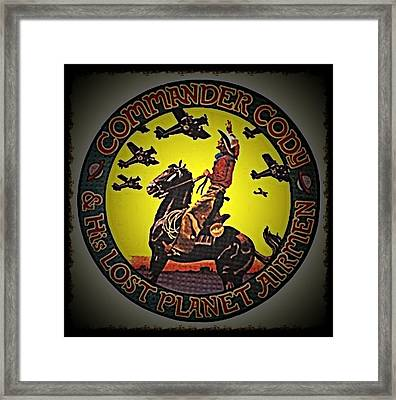 Happy Trails Framed Print by Commander  Cody
