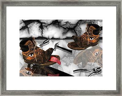 Hard Work Framed Print by Danielle Kasony