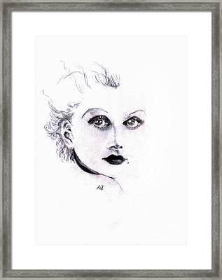 Harlow Framed Print by Maria Hakobyan