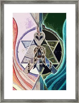 Harmony Of Duality Framed Print by Saarah Esther Felix