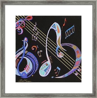 Harmony V Framed Print by Bill Manson