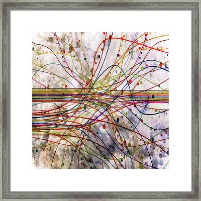 Harnessing Energy 1 Framed Print by Angelina Vick