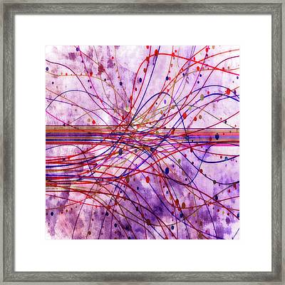 Harnessing Energy 2 Framed Print by Angelina Vick