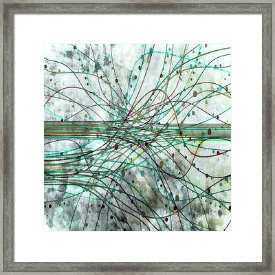 Harnessing Energy 3 Framed Print by Angelina Vick