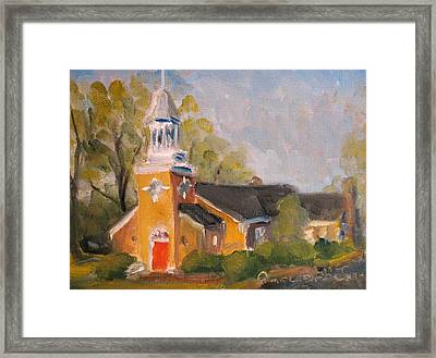 Harpeth Presbyterian Church Framed Print by Susan E Jones