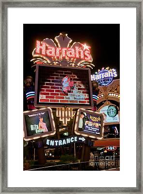 Harrahs Framed Print by Andy Smy