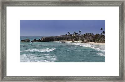 Harrismith Beach - Barbados Framed Print by Andrew Soundarajan
