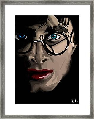 Harry Framed Print by Lisa Leeman