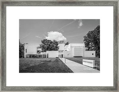 Hartford Seminary Framed Print by University Icons