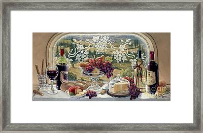 Harvest Celebration Framed Print by Janet  Kruskamp