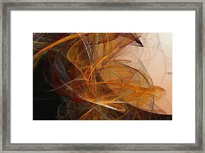 Harvest Moon Framed Print by David Lane