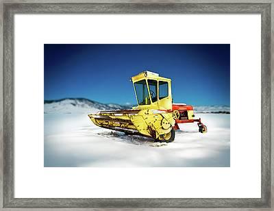 Harvester Framed Print by Yo Pedro