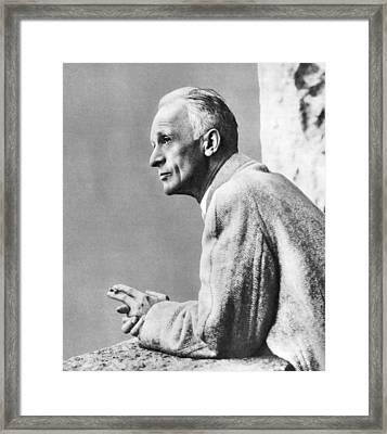 Harvey Cushing, American Neurosurgeon Framed Print by