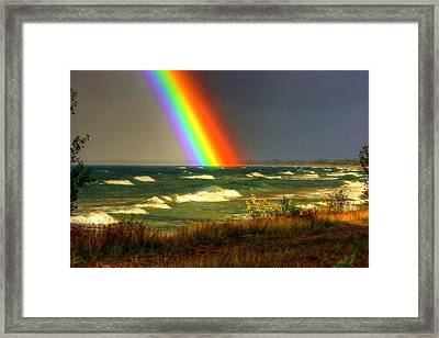 Some Place Special Framed Print by Paul Wickersham
