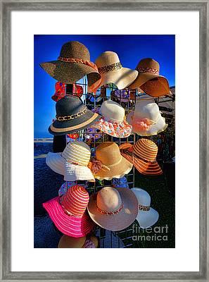 Hat Rack Framed Print by Olivier Le Queinec
