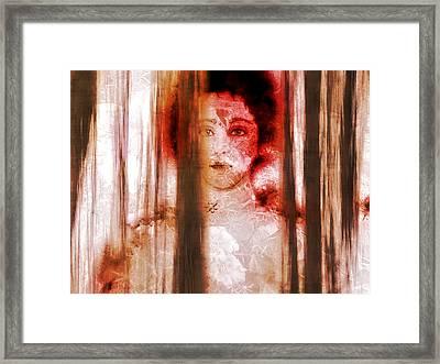 Hattie's Window Framed Print by Patricia Motley