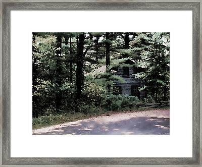 Haunted Framed Print by Lauren Radke