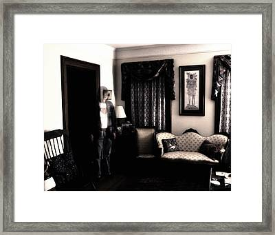Haunting Myself Framed Print by Ross Powell