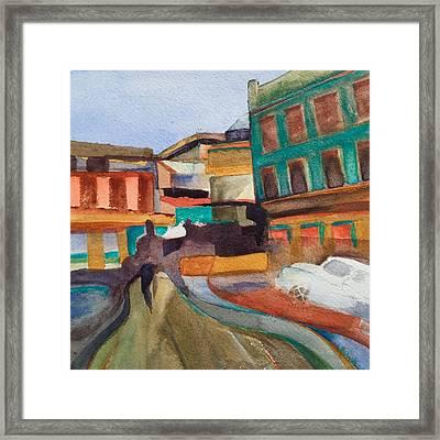Havana Centro Framed Print by Lynne Bolwell