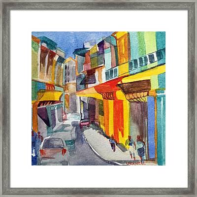 Havana Colors Framed Print by Lynne Bolwell