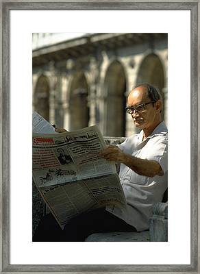 Framed Print featuring the photograph Havana by Travel Pics