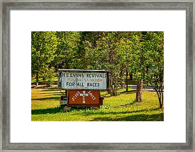 Have Miracle - Will Travel Framed Print by Steve Harrington