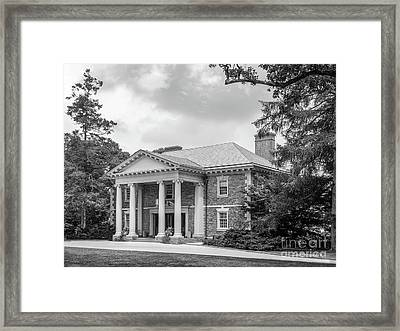 Haverford College Roberts Hall Framed Print by University Icons