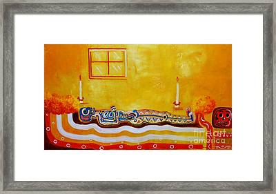 Having A Rest Framed Print by Jose Luis Montes