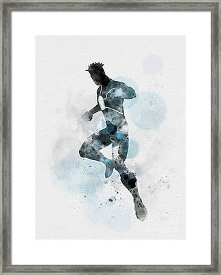 Havok Framed Print by Rebecca Jenkins