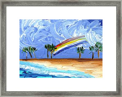 Hawaii 25 Framed Print by Helena M Langley
