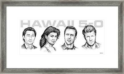 Hawaii 5 0 Framed Print by Greg Joens
