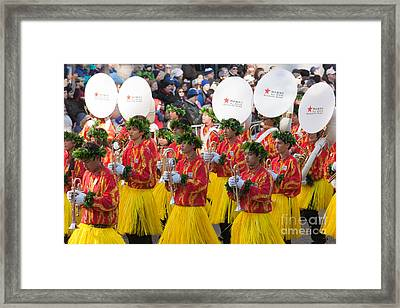 Hawaii All-state Marching Band I Framed Print by Clarence Holmes