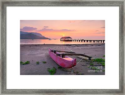 Hawaii Dreams Framed Print by Monica and Michael Sweet