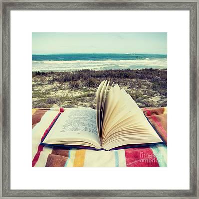 Hawaii Leisure - Hipster Photo Square Framed Print by Charmian Vistaunet