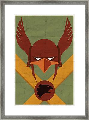 Hawkman Framed Print by Michael Myers