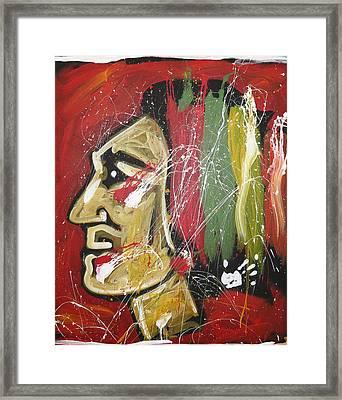 Hawks Framed Print by Elliott From